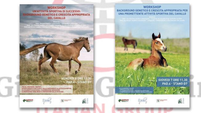 Workshop Gianni Guidolin a Fieracavalli - 7 e 8 novembre 2019