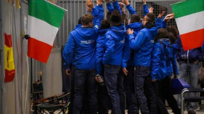 Team Italy Junior Reining