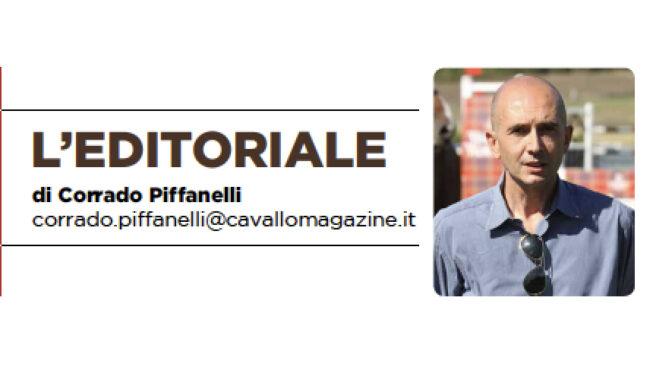 Barra a dritta, editoriale di Corrado Piffanelli - Cavallo Magazine aprile 2020