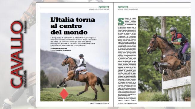 L'Italia torna la centro del mondo equestre - Cavallo Magazine di dicembre 2019