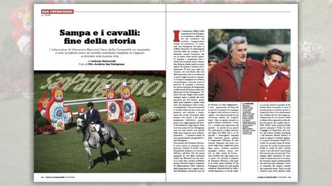 Sampa e i cavalli: fine della storia ©Cavallo Magazine
