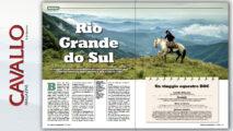 Alla scoperta del Brasile con Cavallo Magazine di dicembre