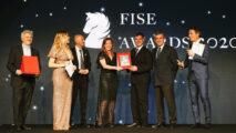 Emanuele Gaudiano di aggiudica il Premio Cavallo Magazine - Fise Awards 2020 ©Fise