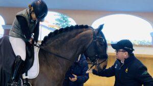 Erica Barozzi, Federico Lunghi e il cavallo Zizifo del Team WorldSoul di Gea Einaudi©WorldSoul