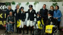 La nazionale italiana premiata allo Cpedi3* by Kep Italia di Ornago, presente anche il Presidente Fise Marco di Paola