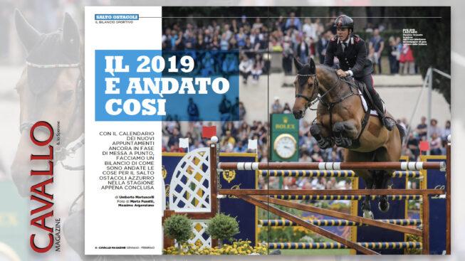 Salto Ostacoli: il 2019 é andato cosí - Cavallo Magazine gennaio febbraio 2020