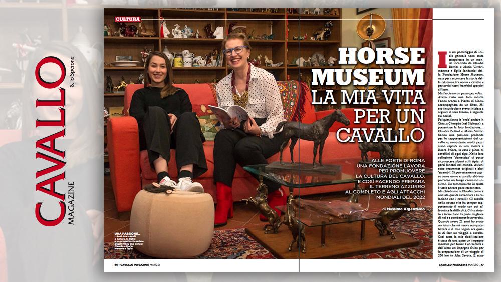 Cavallo Magazine di Marzo 2020: Horse Museum, la mia vita per un cavallo