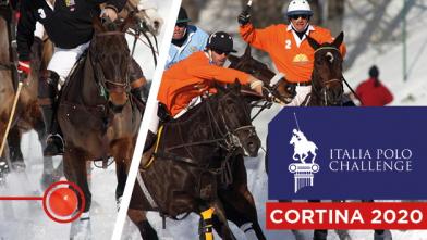 Il polo by night di Cortina