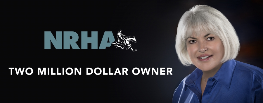 Rosanne Sternberg has recently become the second-ever NRHA Two Million Dollar Owner