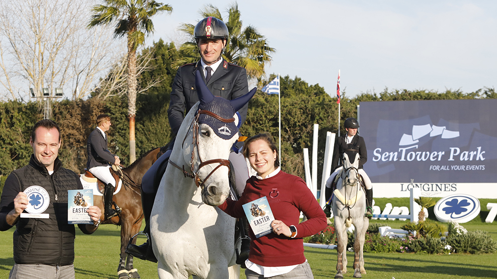 The CSI3* kicks off with an Italian touch ©Oxer