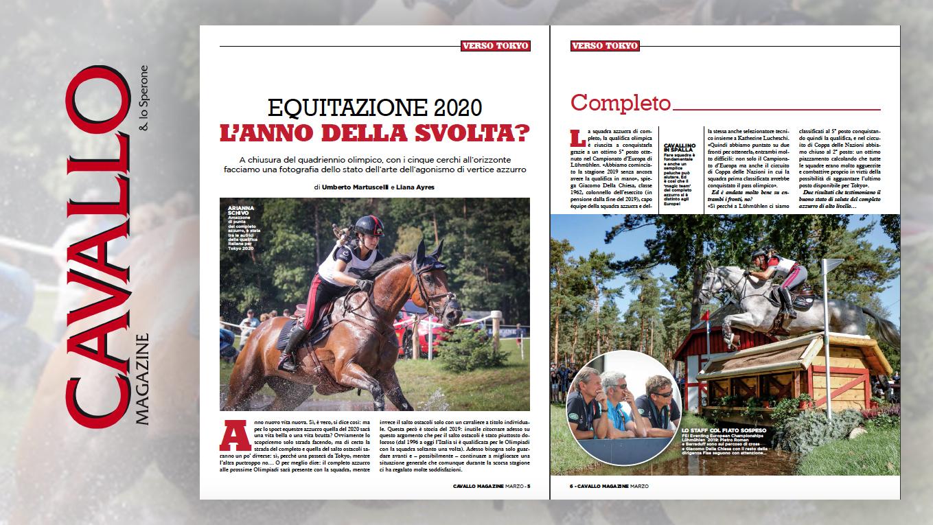 Equitazione 2020: l'anno della svolta? - Cavallo Magazine di marzo 2020