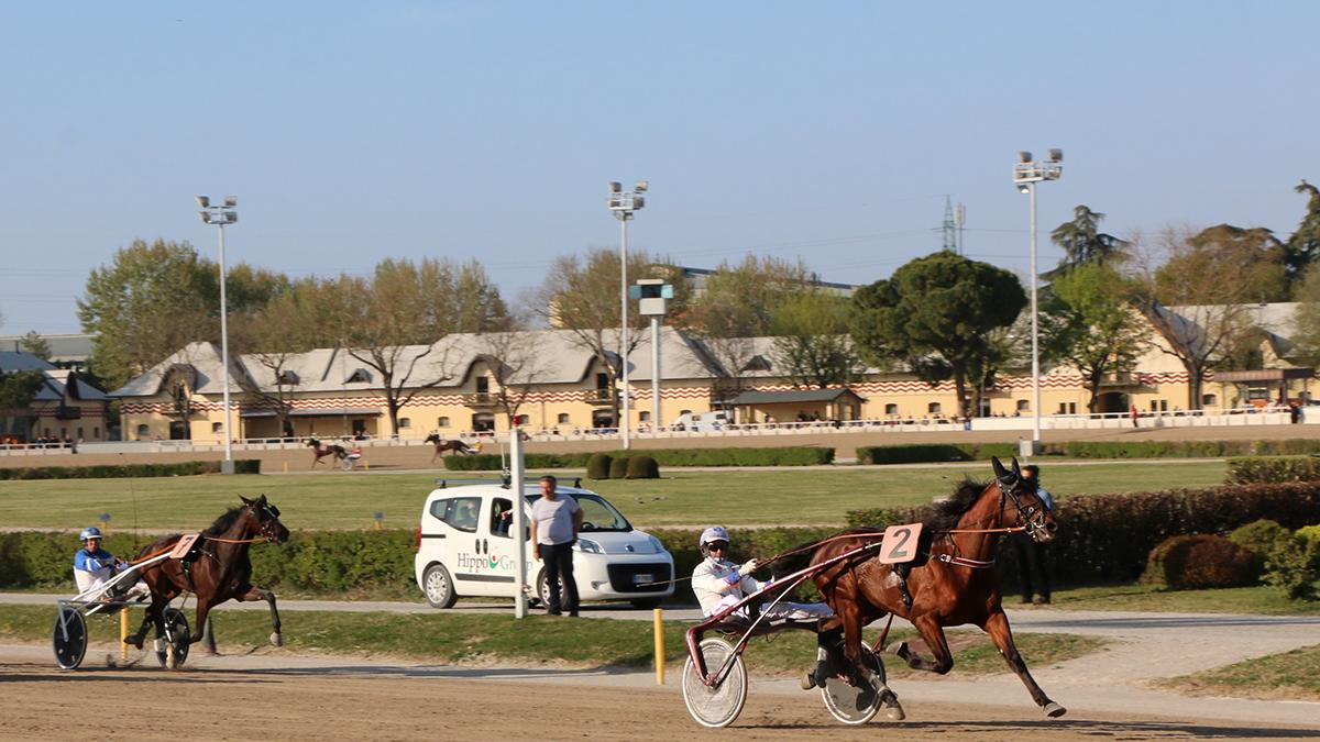 Ippodromo Arcoveggio di Bologna: le corse del 28 maggio 2020 ©Ippodromo Arcoveggio