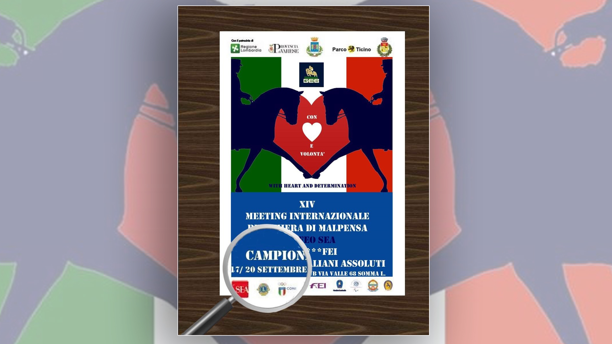 """Paradressage: internazionale e campionati italiani """"con cuore e volontà"""""""