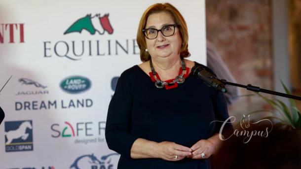 Mirella Bianconi Presidente Regione Fise Umbria e padrona di Casa del Relais Borgo di Celle ©Campus-SSecchi