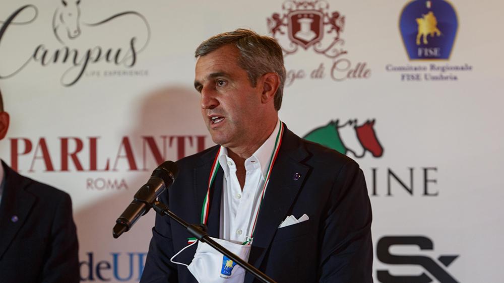 Marco di Paola Presidente della Federazione Italiana Sport Equestri ©Campus-SSecchi