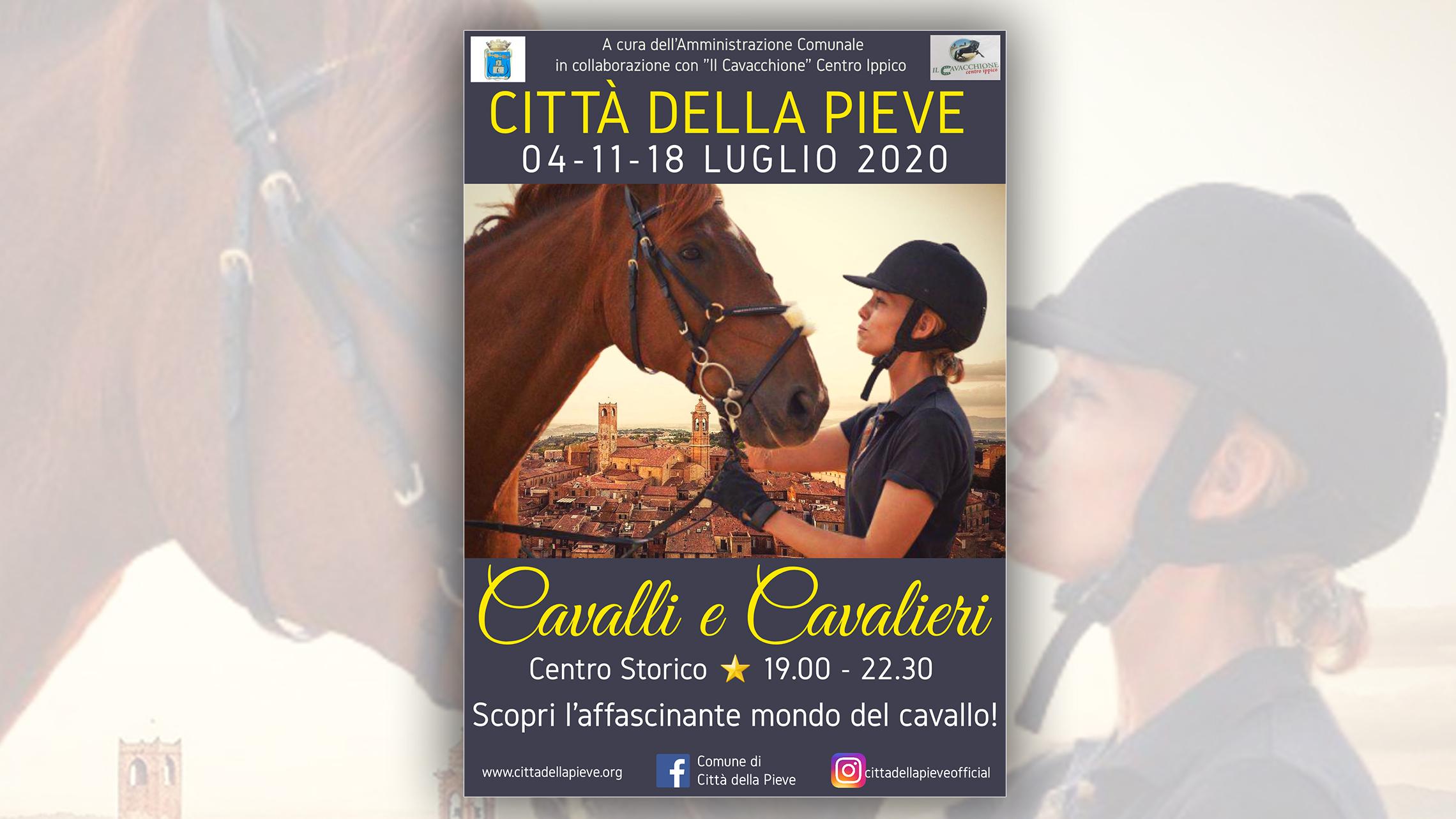 """Città della Pieve presenta """"Cavalli e Cavalieri"""", tre appuntamenti con il fascino della tradizione equestre"""