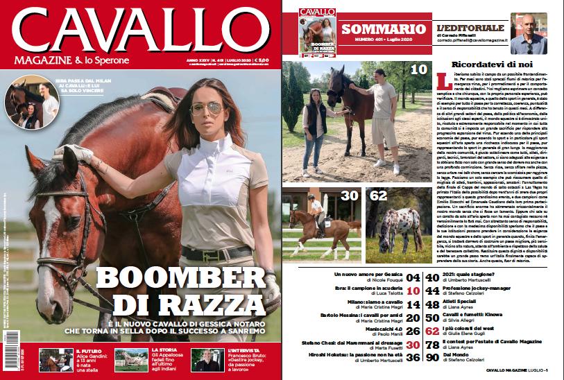Cavallo Magazine di luglio