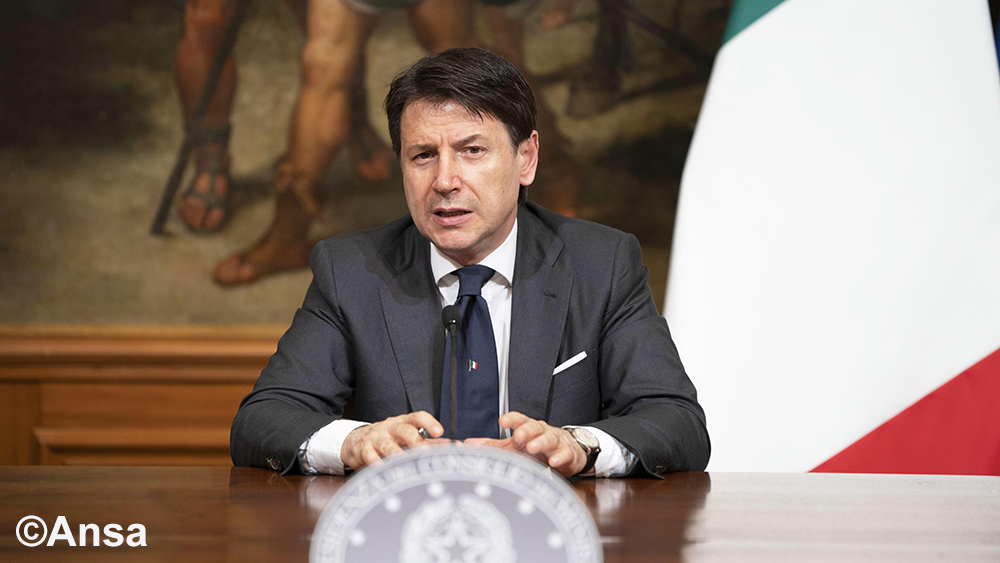Le competizioni sportive riprendono a porte chiuse grazie al Dpcm dell'11 giugno firmato dal Primo Ministro Giuseppe Conte