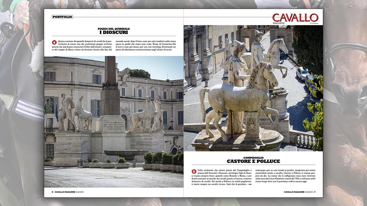"""Cavallo Magazine 400: """"Bello come una statua""""reportage di Massimo Argenziano e Maria Cristina Magri"""