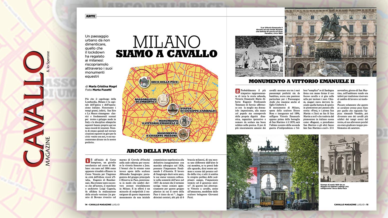 Milano, siamo a cavallo. Un paesaggio urbano da non dimenticare quello che il lockdown ha regalato ai milanesi: riscopriamolo attraverso i suoi monumenti equestri