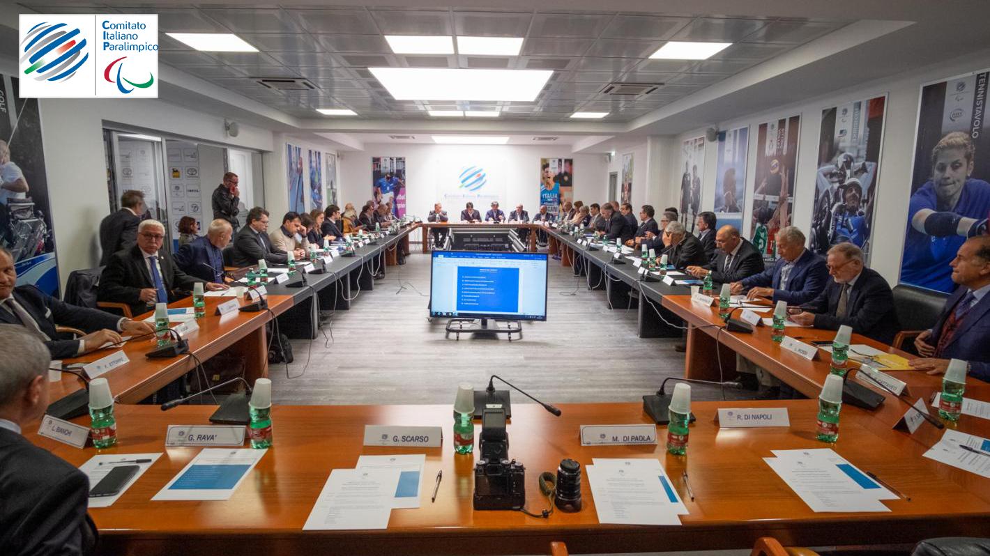 Il tavolo di lavoro del Consiglio del Cip