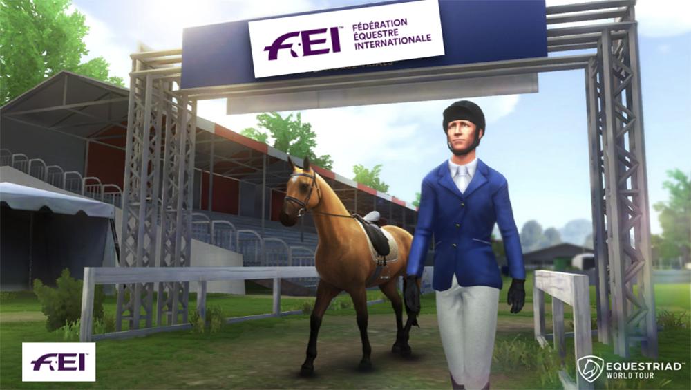 Equestriad, badminton