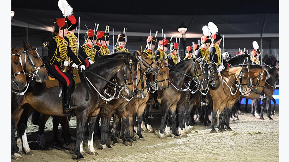Le King's Troop della Royal Horse Artillery, un corpo sempre caro alla regina